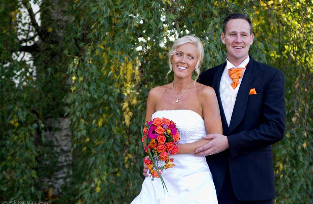 Septemberbröllop för sju år sedan